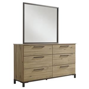 Signature Design by Ashley Dexifield Dresser & Bedroom Mirror