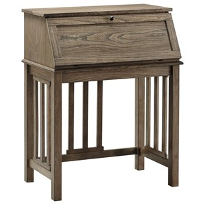 Secretary Home Office Drop Front Desk