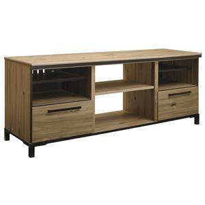 Signature Design by Ashley Dexifield Large TV Stand