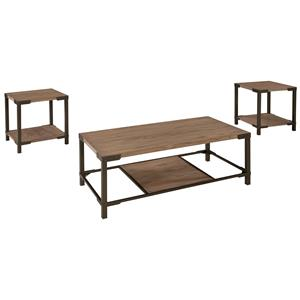 Ashley (Signature Design) Dexifield Occasional Table Set