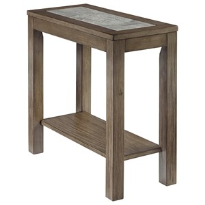 Casual Chairside End Table