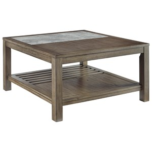 Casual Square Cocktail Table