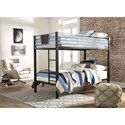 Twin/Twin Bunk Bed w/ Ladder
