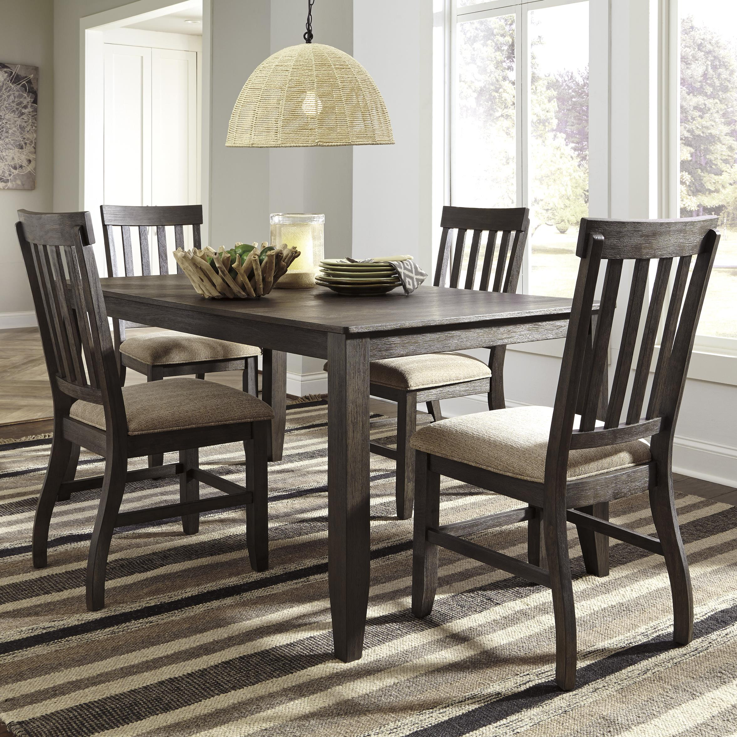 5 Piece Dining Room Sets Amazon Com: 5-Piece Rectangular Dining Table Set By Signature Design