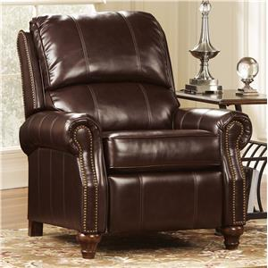 Signature Design by Ashley Furniture Birsh DuraBlend® - Mahogany Low Leg Recliner
