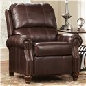 Signature Design by Ashley Furniture Birsh DuraBlend® - Brindle Low Leg Recliner - Item Number: 7730330