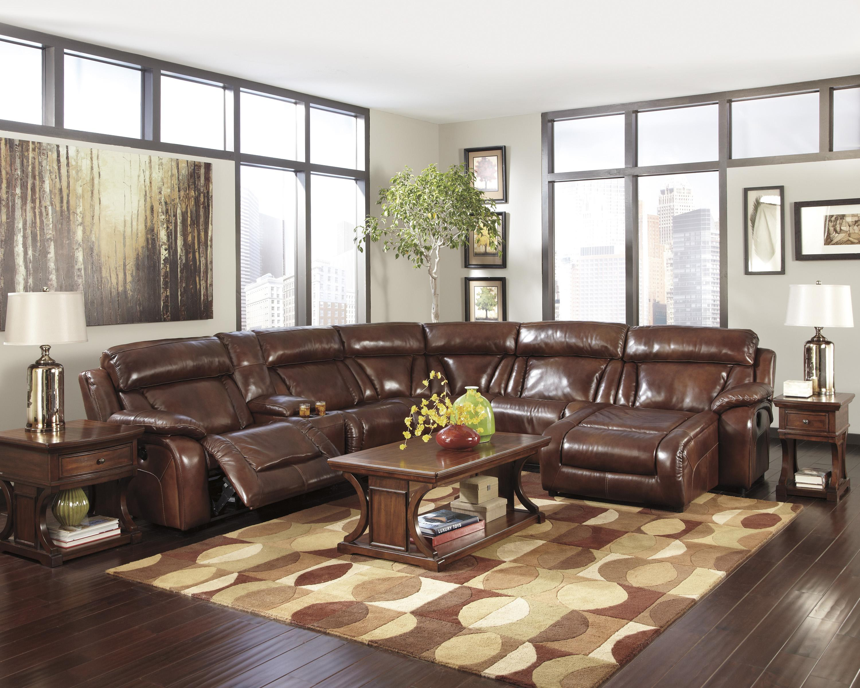 Ashley Sectional Sofa Ashley Armant Sectional Sofa With Right Arm