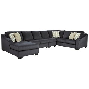 4 Piece Sectional with Left Chaise