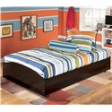 Signature Design by Ashley Furniture Embrace Twin Loft Caster Bed - Item Number: B239-68B