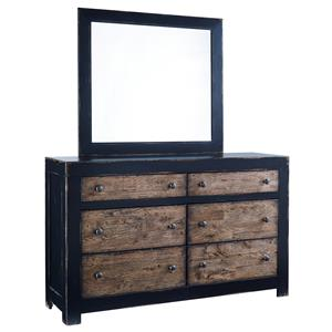 Signature Design by Ashley Emerfield Dresser & Mirror
