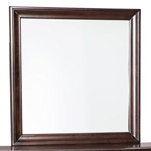 Cherry Finish Bedroom Mirror