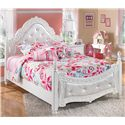 Signature Design by Ashley Exquisite Full Poster Bed - Item Number: B188-72+89
