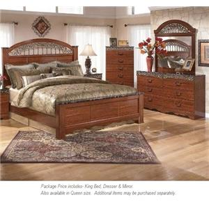 Signature Design by Ashley Fairbrooks Estate 3PC King Bedroom