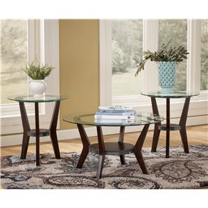 Ashley (Signature Design) Fantell 3-in-1 Group Occasional Tables