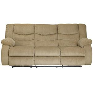 Signature Design by Ashley Garek - Sand Reclining Sofa