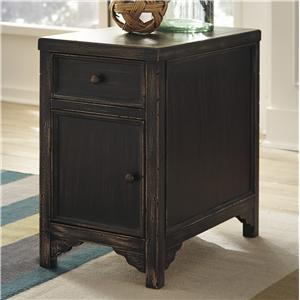 Signature Design by Ashley Gavelston Chair Side End Table