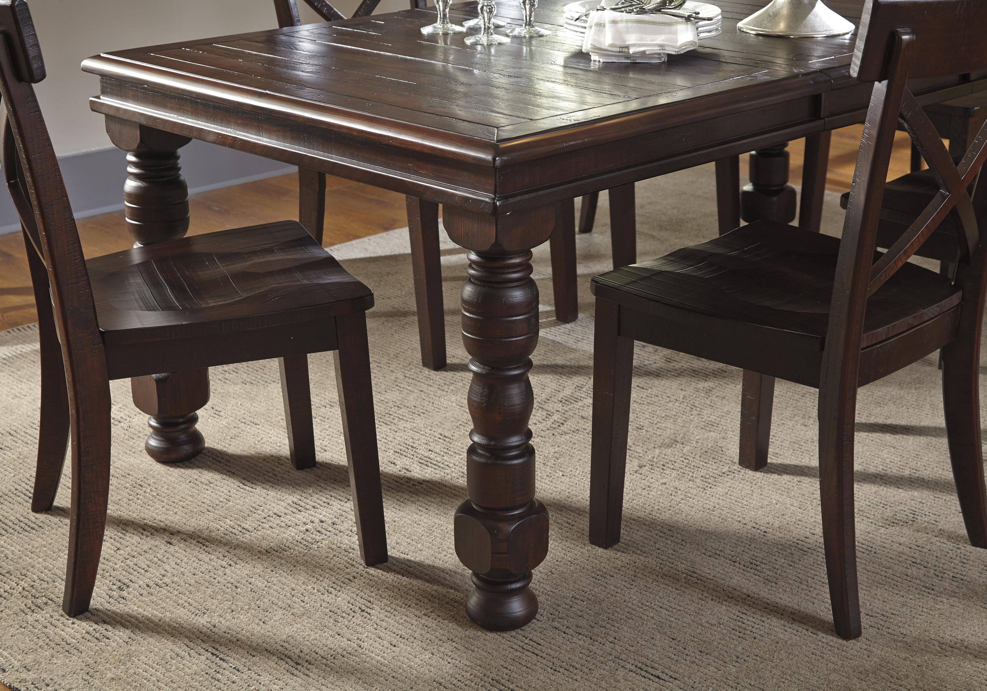 9-Piece Solid Pine Dining Table Set by Signature Design by Ashley ...