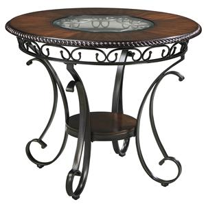 Signature Design by Ashley Furniture Glambrey Round Dining Room Counter Table