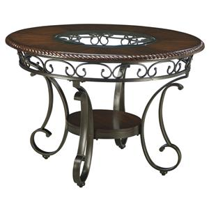 Signature Design by Ashley Furniture Glambrey Round Dining Room Table