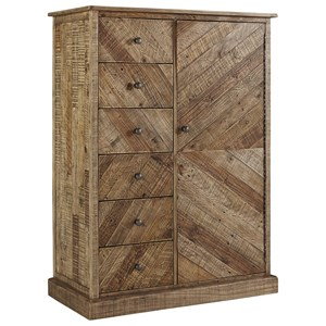 Rustic Door Chest