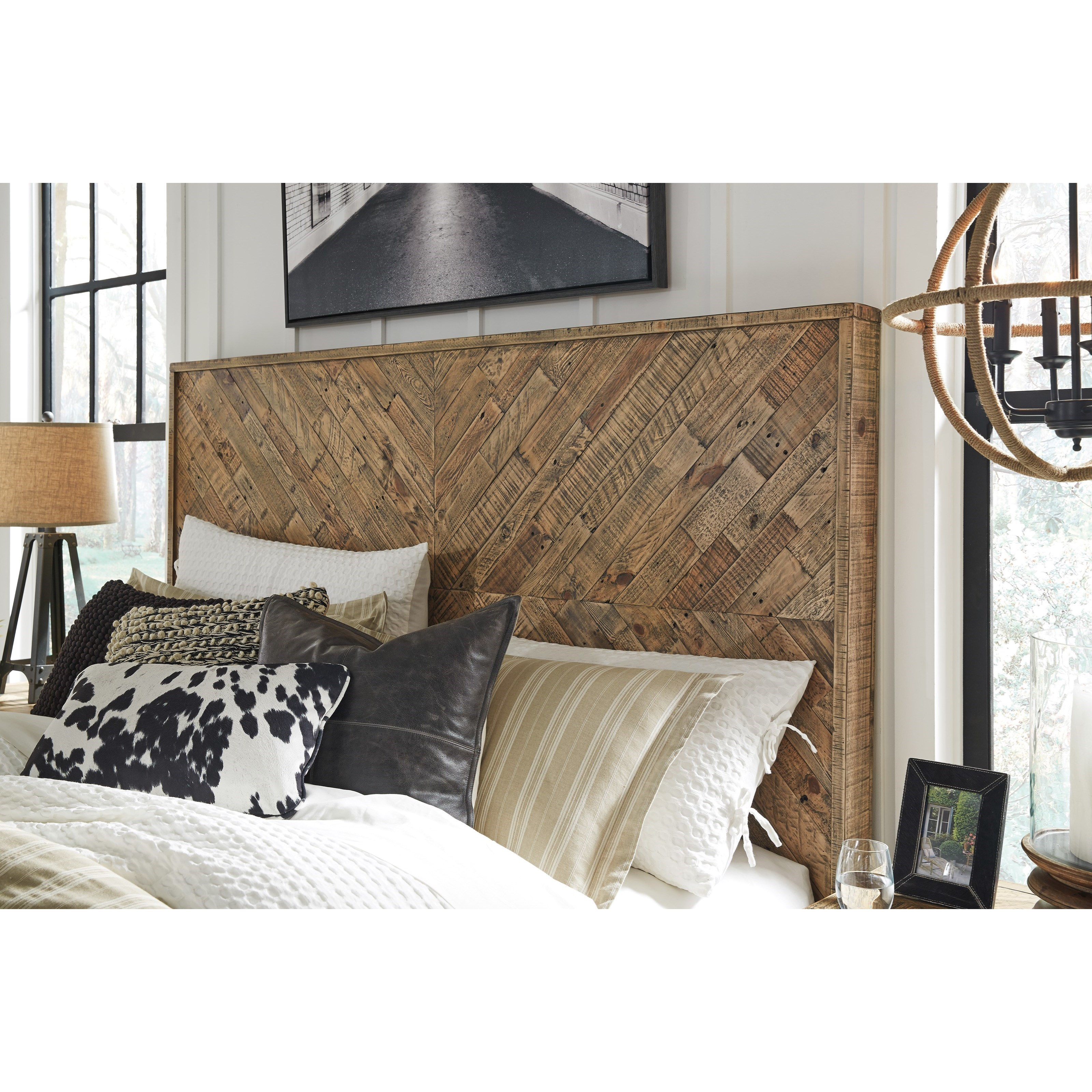 Rustic KingCal King Panel Headboard By Signature Design