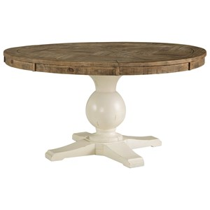 Round Dining Room Pedestal Table