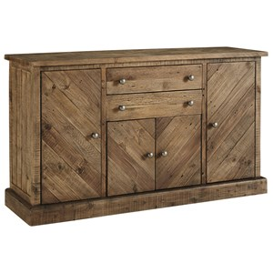 4 Door 2 Drawer Dining Room Server