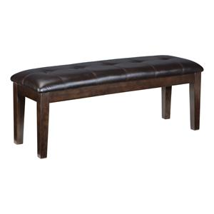 Signature Design by Ashley Haddigan Upholstered Dining Room Bench