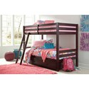 Twin/Twin Bunk Bed w/ Under Bed Storage