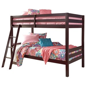 Solid Pine Twin/Twin Bunk Bed