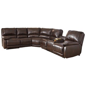 Power Reclining Sectional with Massage, Heat, and Cup Holder Cooling