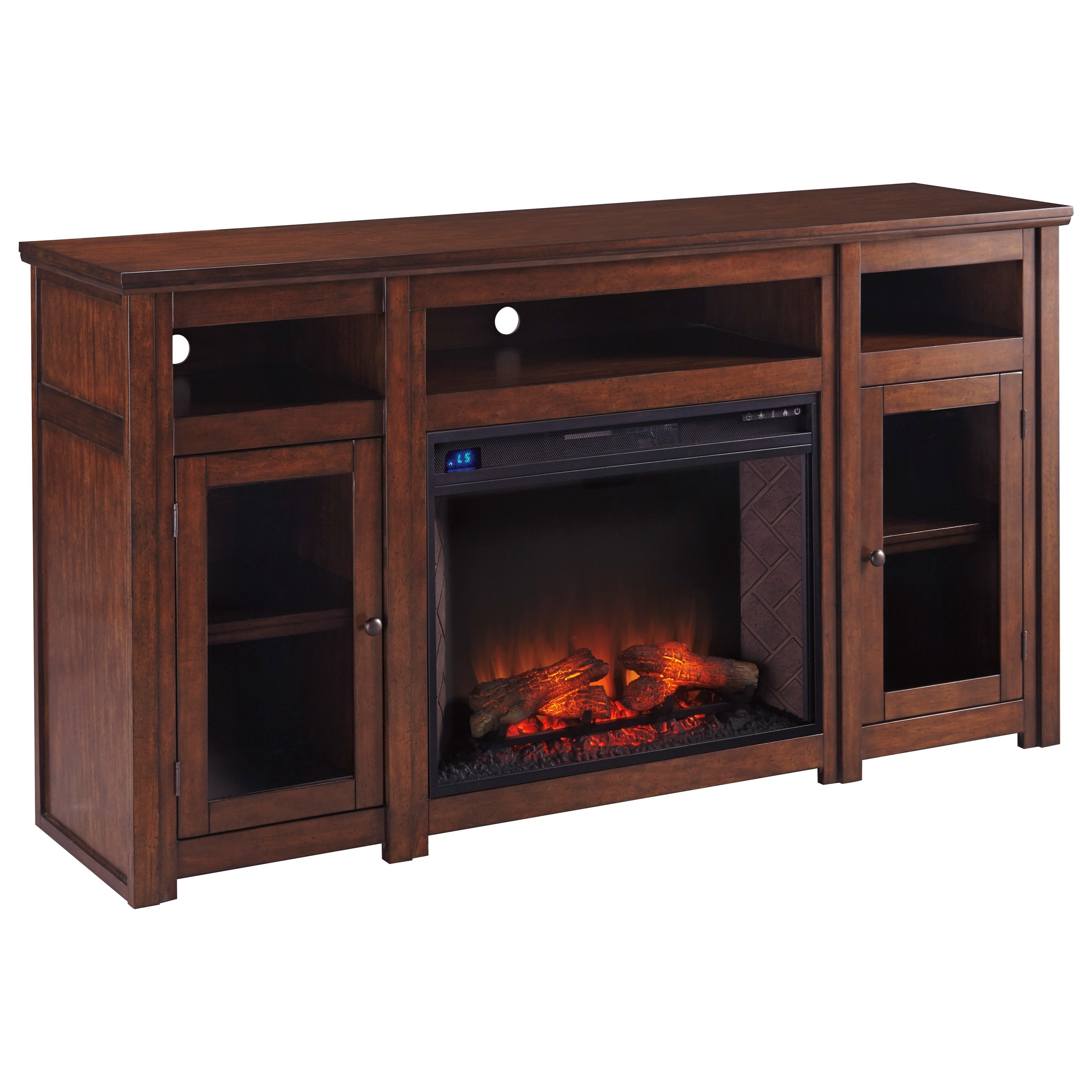 Extra Large Tv Stand W Fireplace Insert