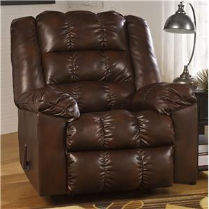 Signature Design by Ashley Hatton DuraBlend Rocker Recliner
