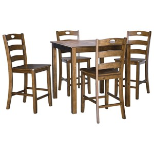 Counter Height Dining Table Set for Four