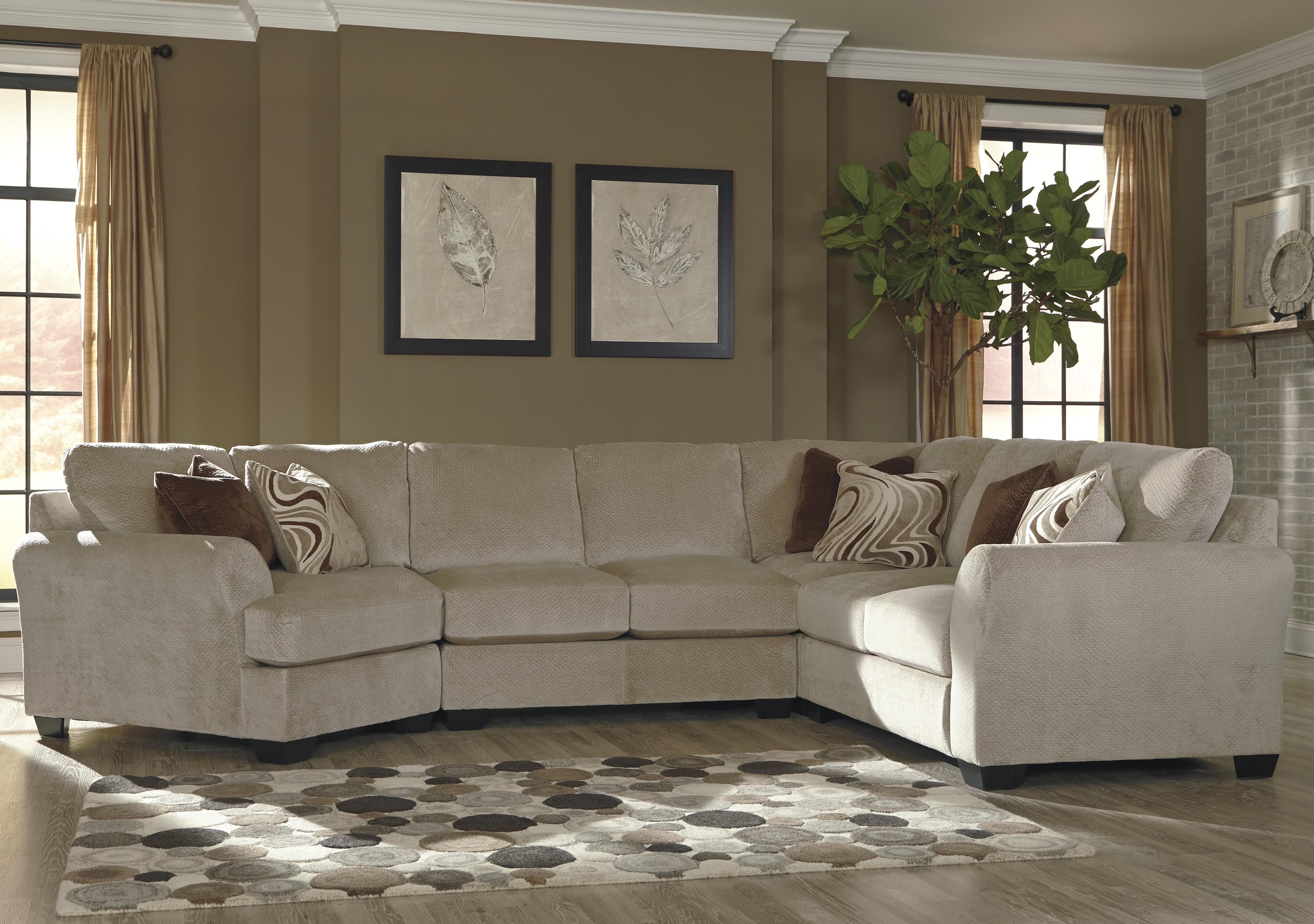 4-Piece Sectional w/ Left Cuddler : left cuddler sectional - Sectionals, Sofas & Couches