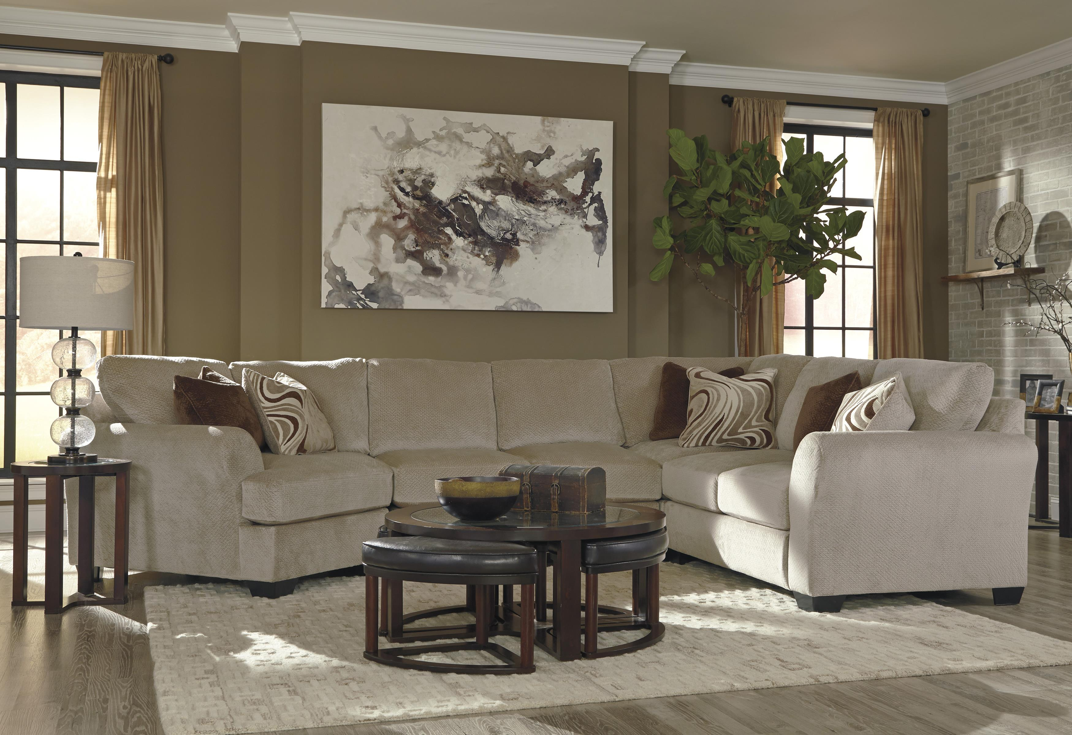 Ashley Sectional With Cuddler 10 Chamberly Sectional Pantomine