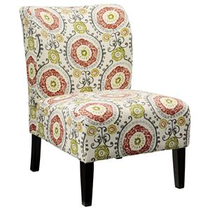 Contemporary Slipper Style Accent Chair
