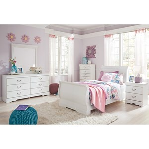 4 Piece Twin Bedroom Group