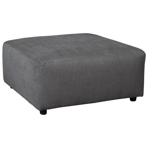Contemporary Square Oversized Accent Ottoman