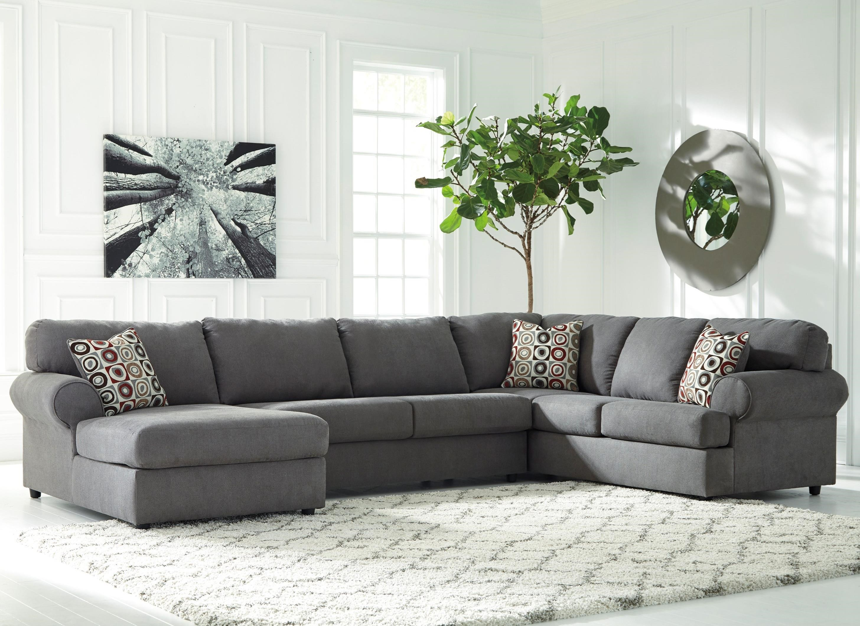 3 Piece Sectional With Left Chaise By Signature Design By