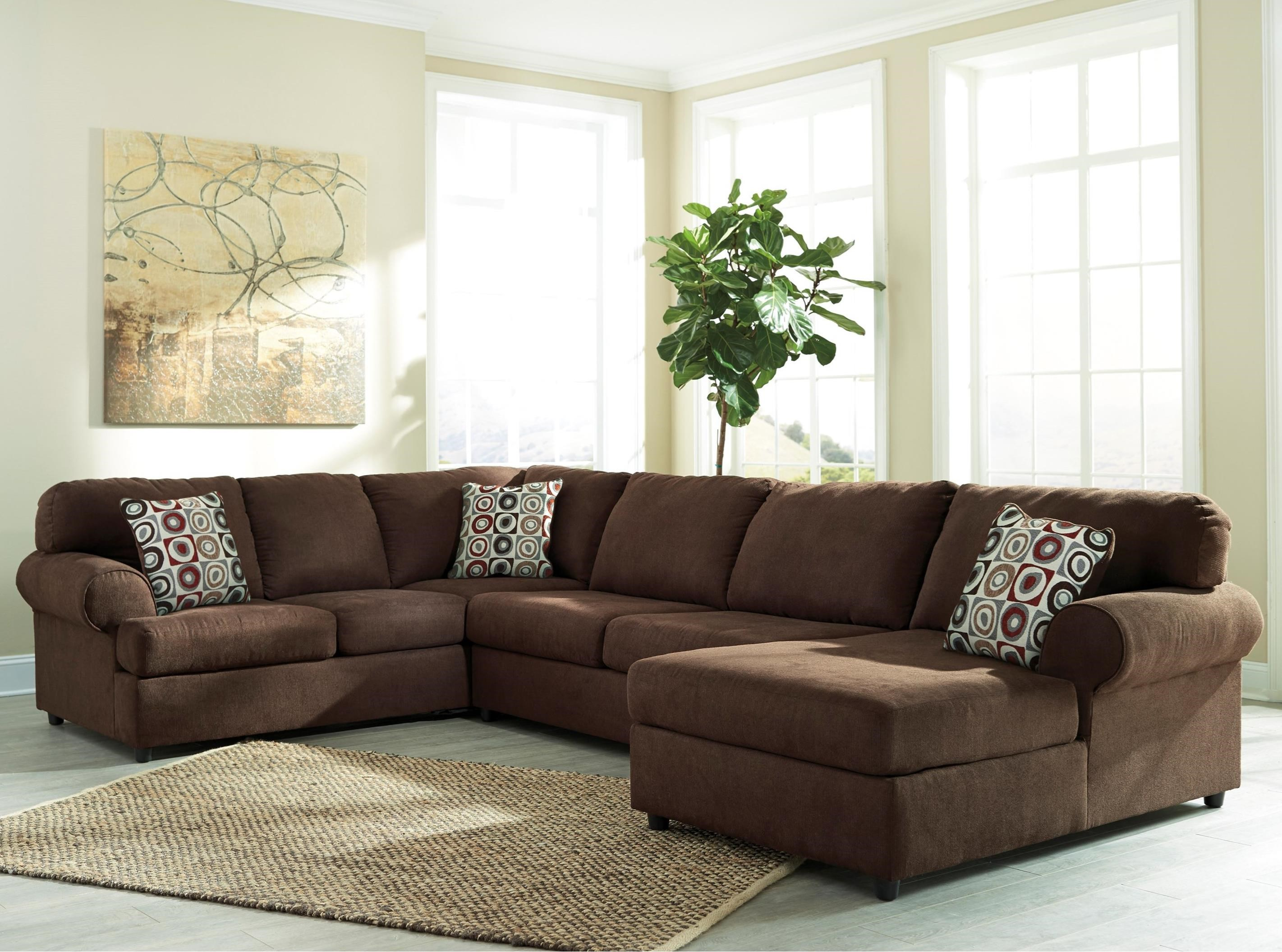 3 Piece Sectional With Right Chaise By Signature Design By Ashley