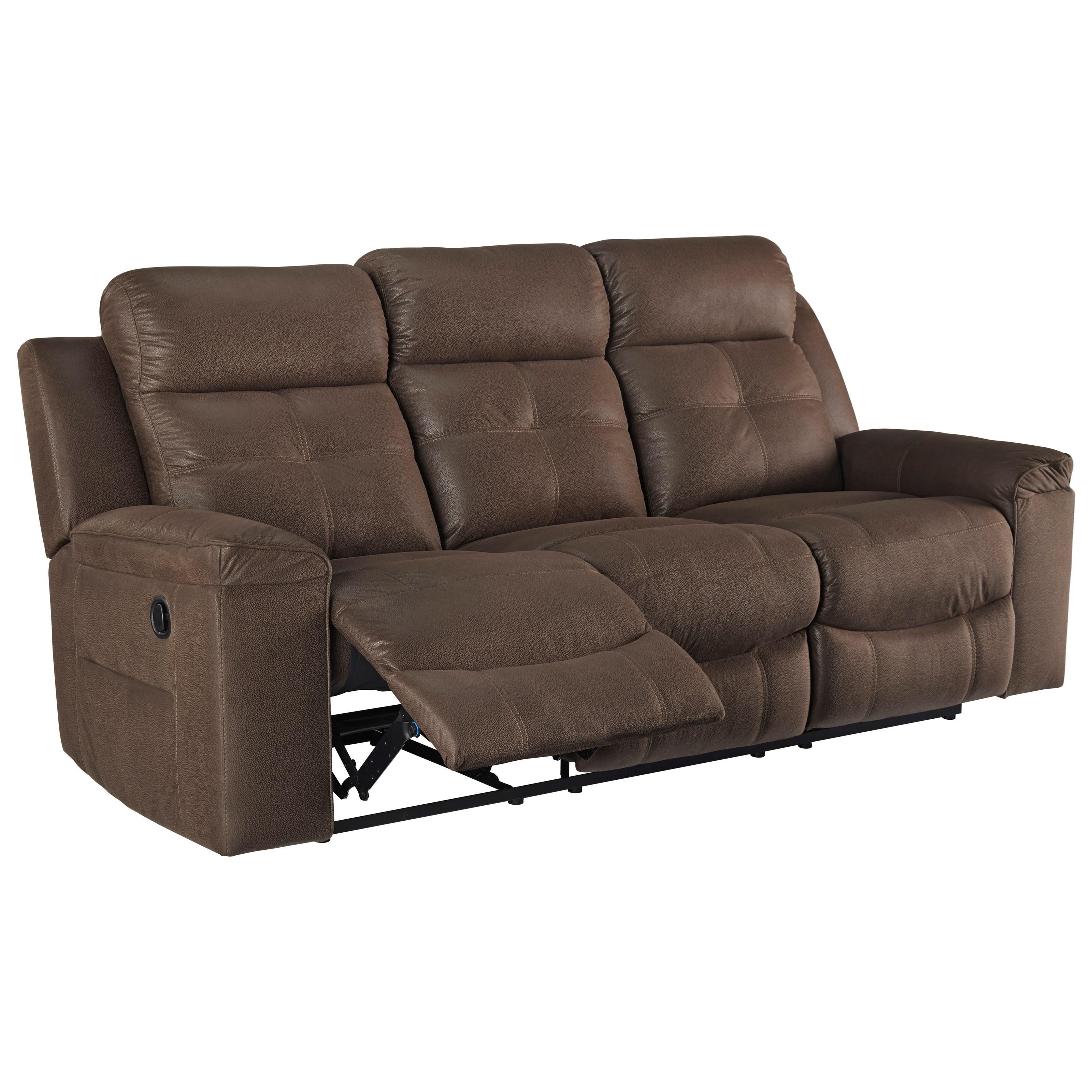 Merveilleux Contemporary Reclining Sofa