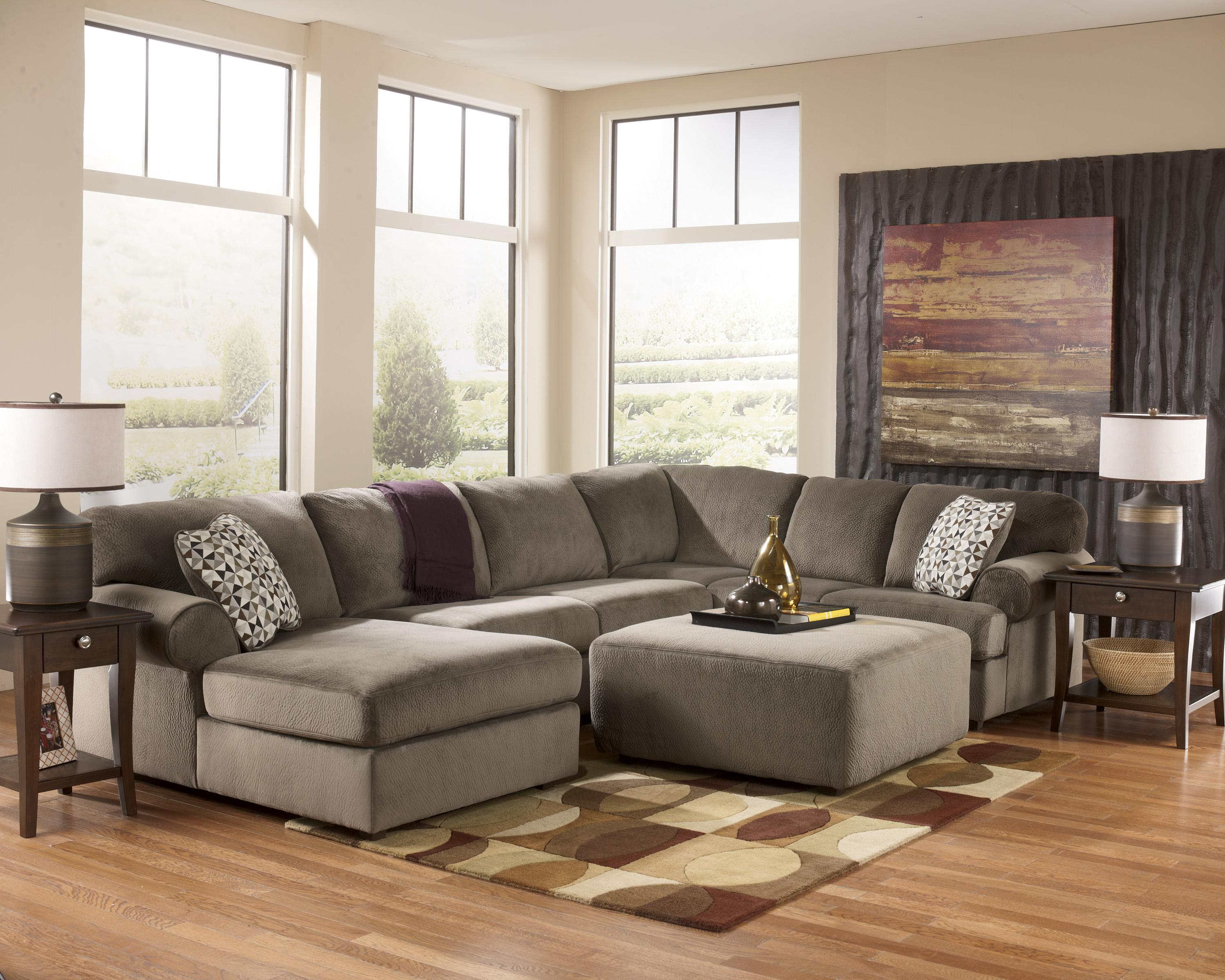 Casual Sectional Sofa With Left Chaise By Signature Design By Ashley Wolf And Gardiner Wolf