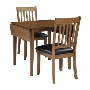 Signature Design by Ashley Joveen 3-Piece Dining Table and Chair Set
