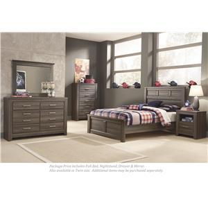 Signature Design by Ashley Juararo 4-PC Full Bedroom
