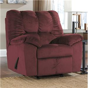 Signature Design by Ashley Julson - Burgundy Rocker Recliner