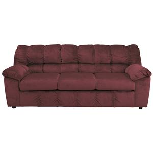 Signature Design by Ashley Julson - Burgundy Full Sofa Sleeper