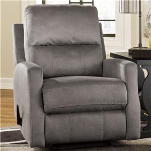 Signature Design by Ashley Karrabin Glider Recliner