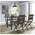 5-Piece Counter Table & Bar Stool Set