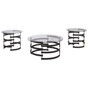 Signature Design by Ashley Kaymine Occasional Table Set